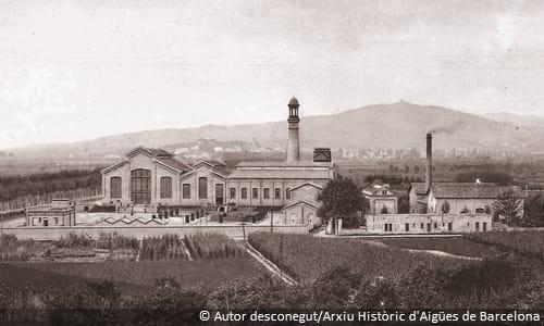 Central de Cornellà d'Aigües de Barcelona