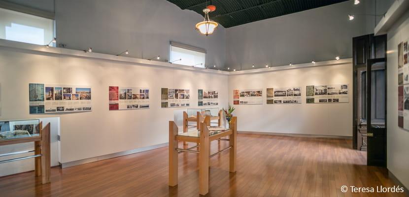Exposició Espais recobrats a Pachuca